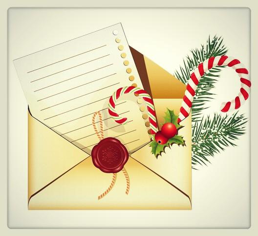 Техника Новогодишно писмо