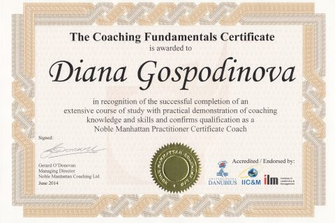 Coaching Fundamentals Certificate