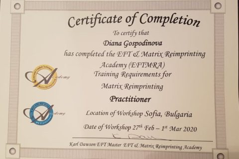 Matrix Reimprinting Practitioner